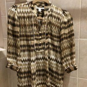 Perfect condition Banana Republic 3/4 sleeves top